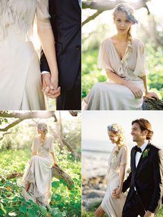 Oh my heavens. Fairy-esque perfection... #bride #groom #wedding
