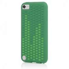 Microtexture Frequency for iPod Touch 5G - Green/Lt Green // YIBIX.com