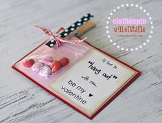 Clothespin Valentine!!!  FREE PRINTABLE included! #simplykierste #valentines #valentinesday