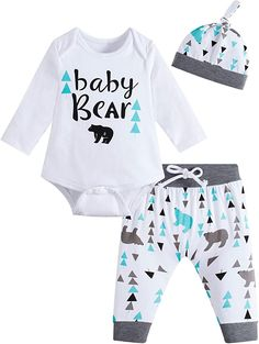 Little Boy Swag, Little Boy Outfits, Baby Boy Outfits, Cool Baby Stuff, Kid Stuff, Earth Color, Bear Print, Girls Pants, Cute Baby Clothes