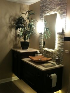 Furbishing Bathroom Interior With Plants | Decozilla