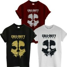 Call Of Duty COD Ghost Skull Glitter Fitted T Shirt available in the UK at http://www.call-of-duty-products-worldwide.com/shopUK/call-of-duty-cod-ghost-skull-glitter-fitted-t-shirt/
