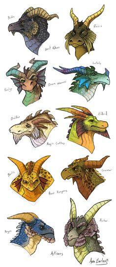 Spyro Dragons by Turtle-Arts.deviantart.com on @DeviantArt