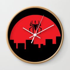 """Good times! Rethink the traditional timepiece as functional wall decor. You'll love how our Artists are converting some of their coolest designs specifically into Wall Clocks. Constructed with premium, shatter-resistant materials, with three frame color options.      - Natural wood, black or white frame options   - Dimensions: 10"""" diameter, 1.75"""" depth   - Choose black or white hands to match frame or design   - High-impact plexiglass crystal face   - Backside hook for easy hanging Wall Clocks, Wall Prints, Natural Wood, Cool Designs, Container, Wall Decor, Hands, Graphics, Artists"""