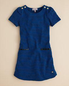 Juicy Couture Girls' Stripe Jersey Dress -