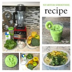Are you looking for a starter smoothie recipe to introduce more veggies and fruits to your family? Smoothies are a great way to start being less processed.