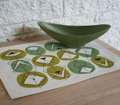 Set Of 4 Eco Friendly Placemats Avocado Kitchen Par Jennski Sur Etsy Via