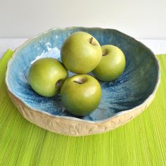 Rustic Bowl Large Pottery casserole baking dish by OneClayBead, $71.00
