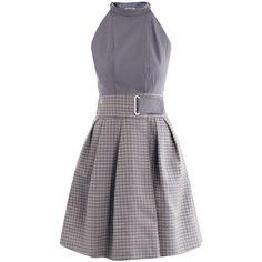 Kenzo Pointillist jacquard dress ($623) ❤ liked on Polyvore