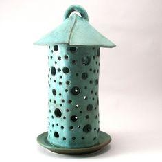 Lantern Round Weathered Bronze Glaze by cherylwolffgarden on Etsy, $120.00