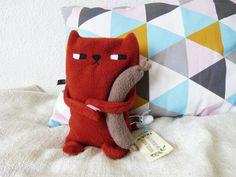 Körnerkissen Fuchs // fox grain pillow via DaWanda.com