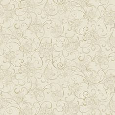 Mini Medallion Scroll Beige