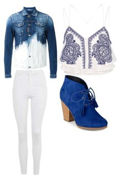 """""""Untitled #174"""" by princesssheryl1 on Polyvore featuring Dsquared2, Topshop, River Island and Journee Collection"""