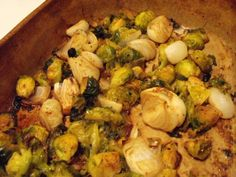 Roasted Brussels Sprouts & Cipollini Onions - RVANews
