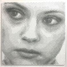Neda movimento 2 (Elementi per una teoria della jeune-fille): Giorgio tentolini 2017, mixed media cm 80x 80 #ckcontemporary #art #painting #cityscape #contemporaryart