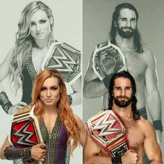 Becky Lynch & Seth Rollins Wwe Seth Rollins, Seth Freakin Rollins, Becky Lynch, Seth Rollins Girlfriend, Becky Wwe, Wwe Pictures, Catch, Rebecca Quin, Wwe Couples