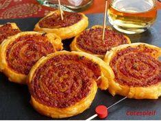 Roulés au chorizo Pancakes, Breakfast, Nouvel An, Parmesan, Food, Cooker Recipes, Breakfast Cafe, Pancake, Essen