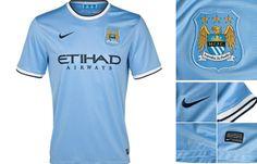 Camisa titular Manchester City 2013-2014