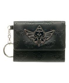The Legend of Zelda Hyrule Crest Trifold Wallet