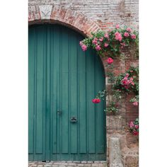French Country, Blue Door