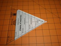 60 degree triangle quilt tip