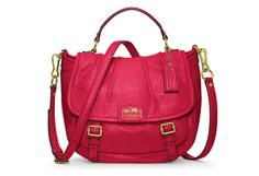 Not often am I attracted to Brands but this red and this shape, nice! CoachMadisonCollection 2012 Annabelle