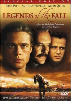 Amazon.com: Legends of the Fall (Special Edition): Brad Pitt, Anthony Hopkins, Aidan Quinn, Julia Ormond, Henry Thomas, Karina Lombard, Tantoo Cardinal, Gordon Tootoosis, Paul Desmond, Christina Pickles, Robert Wisden, John Novak, Edward Zwick, Jane Bartelme, Marshall Herskovitz, Patrick Crowley, Jim Harrison, Susan Shilliday, William D. Wittliff: Movies & TV