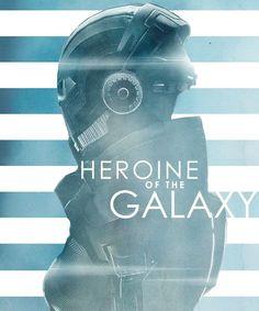 Commander Shepard: Heroine of the galaxy. #masseffect