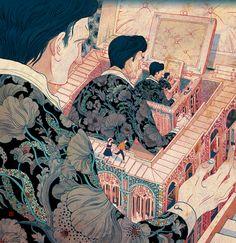 Victo Nagai http://aburrimientovital.wordpress.com/2013/10/04/descubriendo-ilustradores-victo-ngai/