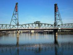 Love the Bridges in Portland!