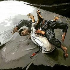 Repost ・・・ Brown belt figuring out a subtle passing detail. Judo, Fighting Poses, Art Of Fighting, Bjj Memes, Ju Jitsu, La Art, Mma Boxing, Graphic Artwork, Brazilian Jiu Jitsu