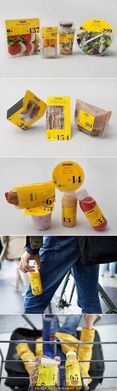 Sleek food packaging from Migrolino Fruit Packaging, Food Packaging Design, Cute Packaging, Packaging Ideas, Brand Packaging, Burger Co, Label Design, Package Design, Menu Book