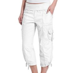 White Calvin Pants No Stains In Perfect Condition Calvin Klein Pants Track Pants & Joggers