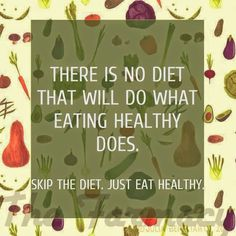 Tired of dieting? changes you can make