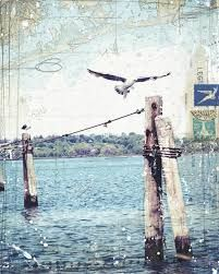Image result for contemporary abstract art using nautical maps
