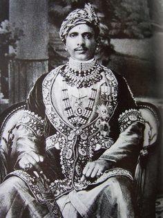 *Maharaja Sawai Jai Singh Bahadur of Alwar, born 1882.