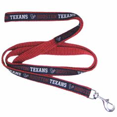 Houston Texans Ribbon NFL Dog Leash