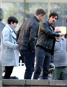 """Ginnifer Goodwin, Colin O'Donoghue and Josh Dallas - Behind the scenes - 5 * 23 """"An Untold Story"""" - 28 March 2016"""