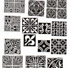 medieval tile patterns