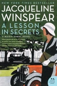 On April 21, my book club met at Novel Places to discuss A Lesson in Secrets by Jacqueline Winspear, which I reviewed in late March. A Lesson in Secrets is the 8th Maisie Dobbs book, but aside fro…