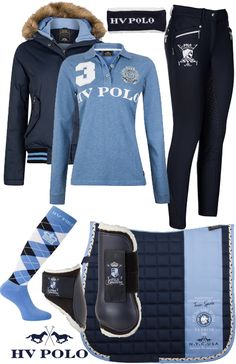 HV Polo Winter Blue Roosville - Epplejeck
