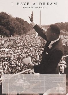 Martin Luther King Jr - I Have a Dream - Official Poster
