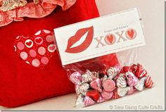Day 7: Handmade Valentine's with FREE printable from @Tamarynn Bennett from Sew Dang Cute Crafts!