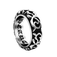 AngelBliss Unisex New Fashion Titanium Steel Refinement Inner Wall Lettering ring(Diameter:16.4mm), http://www.amazon.com/dp/B014QL2ULU/ref=cm_sw_r_pi_awdm_En81wb16DVXJ7