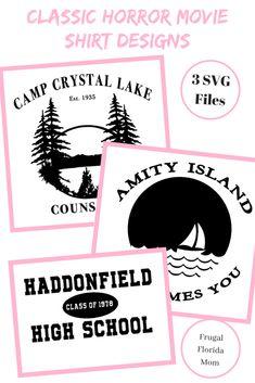 6b53846e8 Camp Crystal Lake T SHIRT Friday the 13th art poster Tee Jason ...