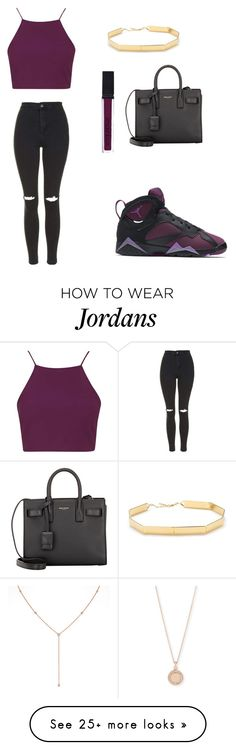 """4/6/16"" by superflylala on Polyvore featuring NIKE, Topshop, Yves Saint Laurent, NARS Cosmetics, Smashbox, Diamond Star, Astley Clarke and Elizabeth and James"