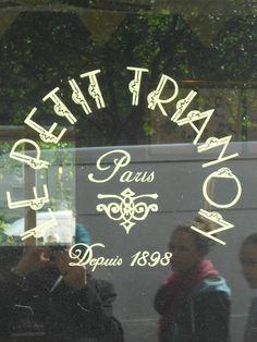 Restaurant ♦ Le Petit Trianon : Restaurant Paris 75018