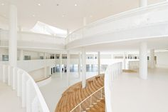 CEBRAs VUC school atrium in Odense, Denmark...