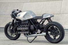 Killer K: A custom BMW K100 cafe racer by Mike Flores
