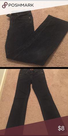 👖WOMANS DENIM 👖 Black denim jeans. Good condition Lee Jeans Boot Cut